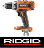 "Ridgid R860054 GEN5X 18 Volt Lithium-Ion Brushless Cordless 1/2"" inch 2-Speed Drill/Driver Bulk Packaged (Certified Refurbished)"
