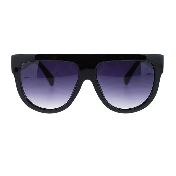 Amazon.com: Con parte superior plana anteojos de sol ...