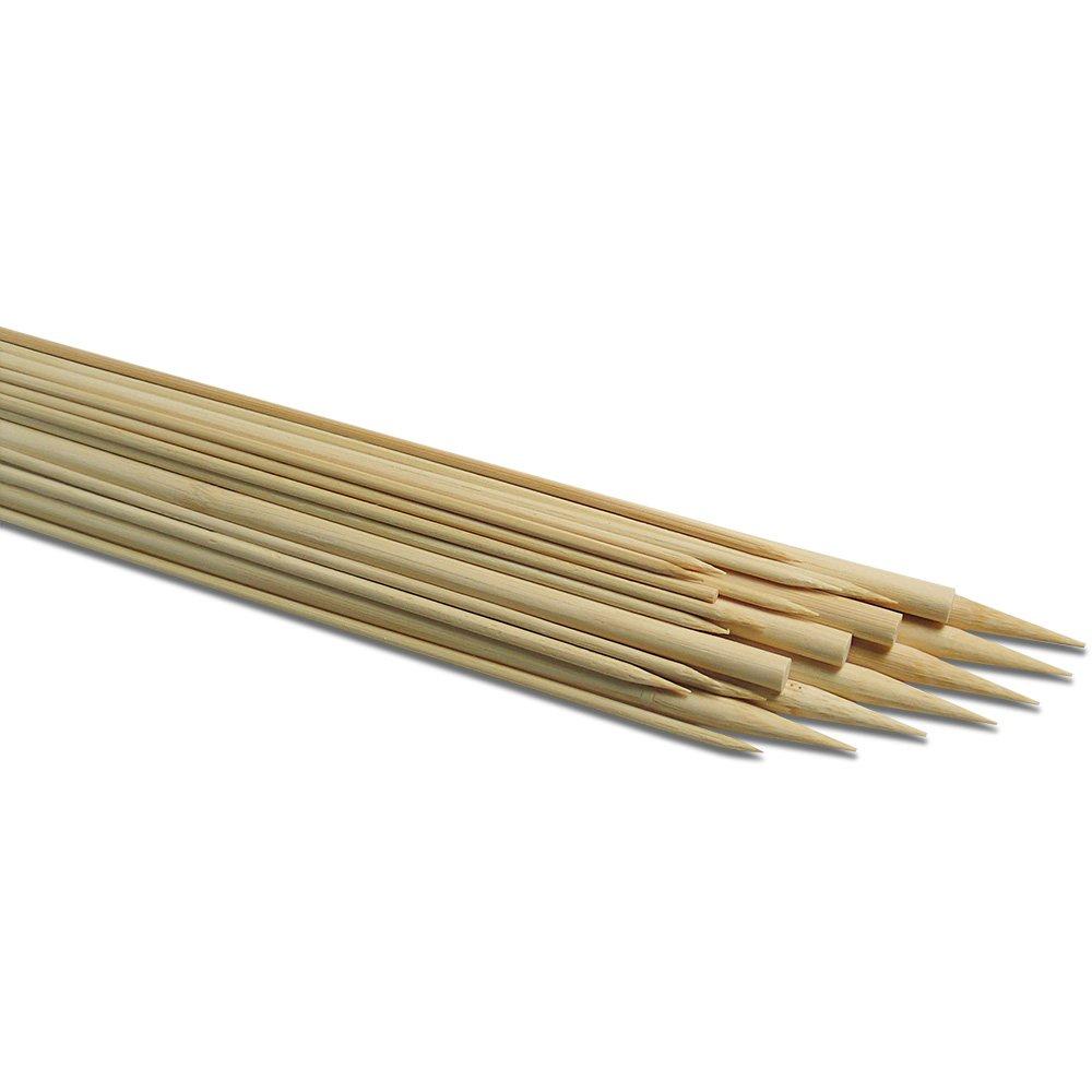 Baguettes en bois unilat/éralement gespitzt 5/mm longueur 30/cm lot de 12