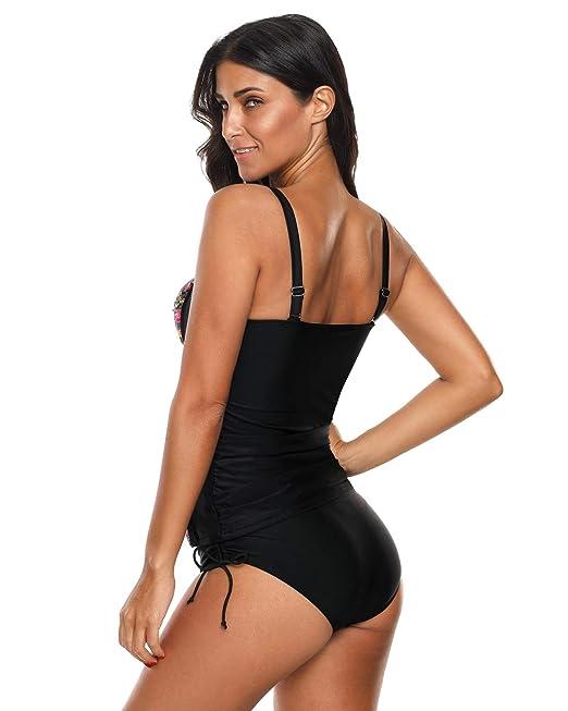 Amazon.com: Trajes de baño de dos piezas para mujer de talle ...
