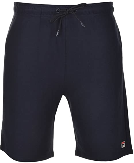 568a549227ca Fila Vintage Men's Viktor Flecked Fleece Logo Shorts, Blue, Medium: Amazon.co.uk:  Clothing