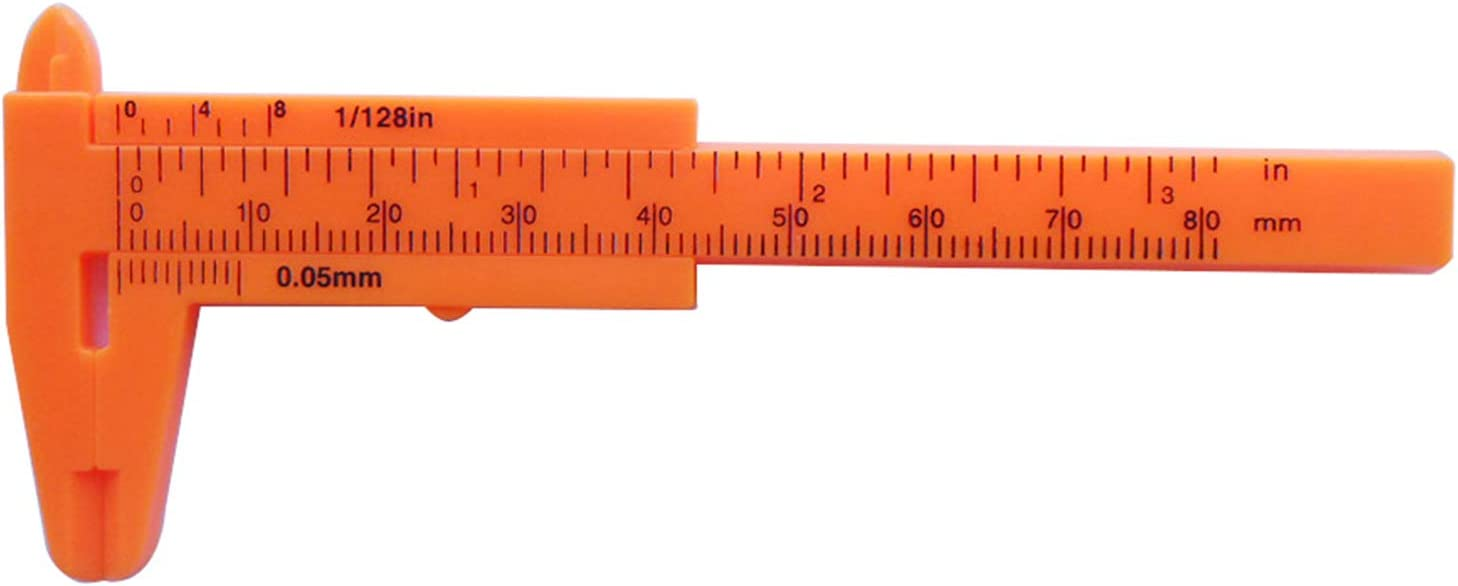 Calibre de pl/ástico deslizante para calibrador de calibrador Fengshengli 0-80 mm