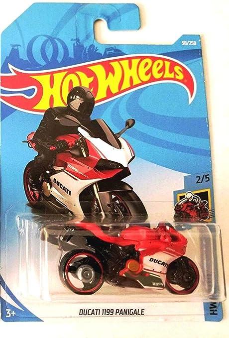 Hot Wheels 2019 HW Moto Ducati 1199 (Motorcycle) 58/250, Red