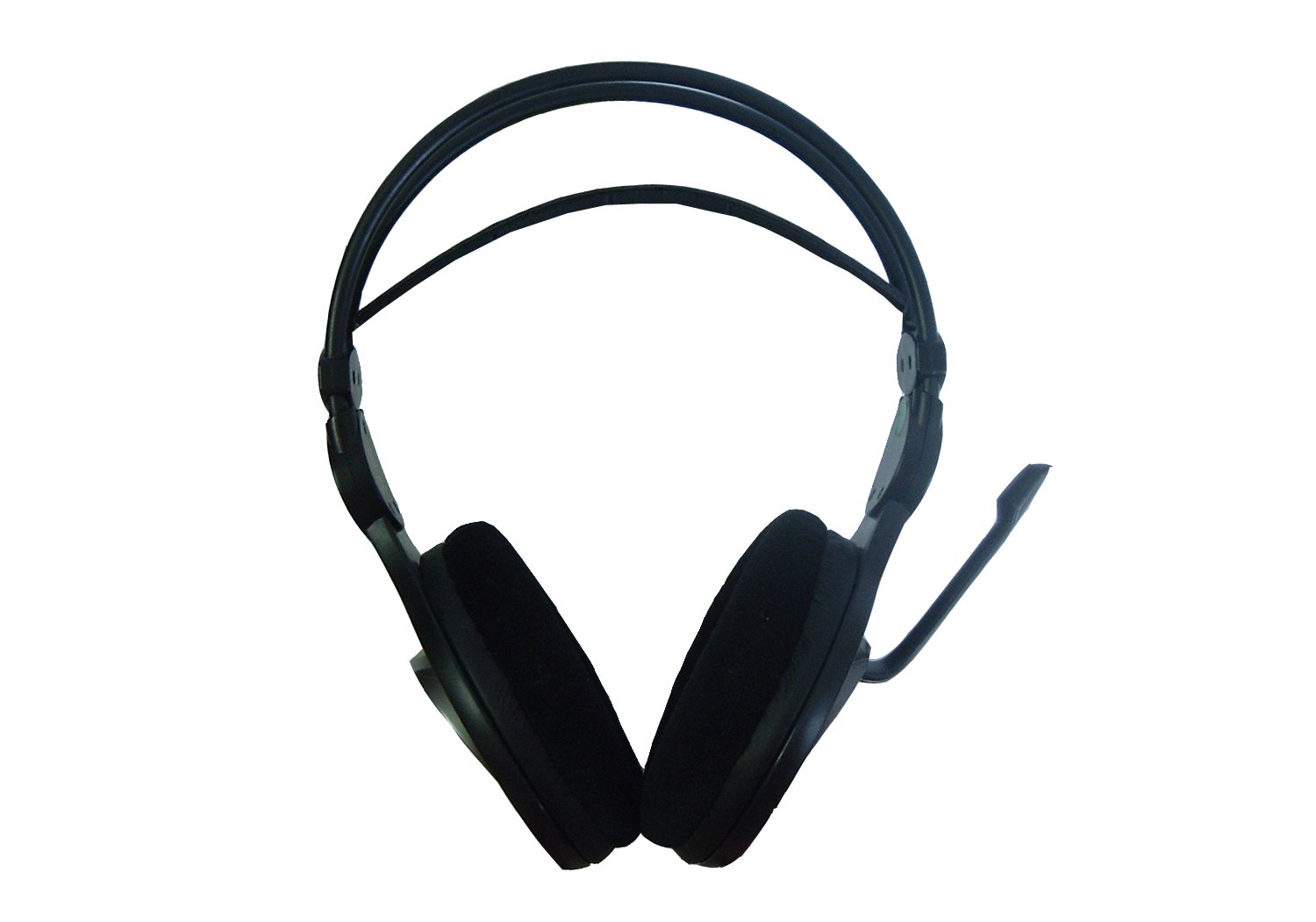f3983a2397a Amazon.com: A4tech HS-100 Stereo Gaming Headset Office Headphone with Aux  Mic Split: Computers & Accessories