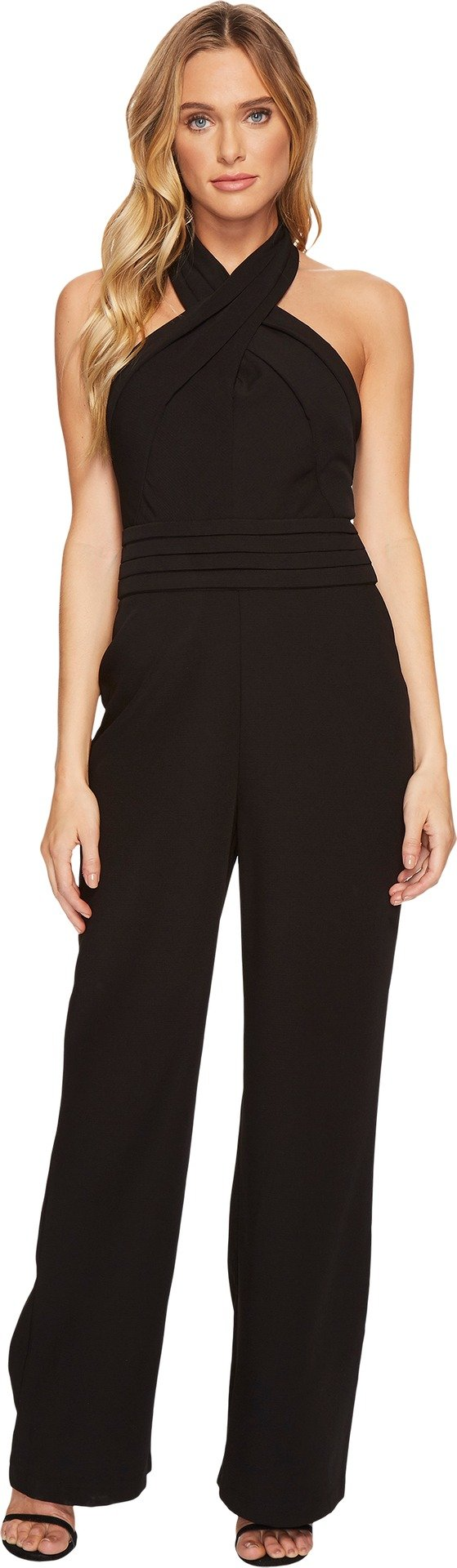 Adelyn Rae Women's Cindy Jumpsuit Black Small