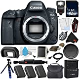 Canon EOS 6D Mark II DSLR Camera (Body Only) 26.2MP Full-Frame International Version (No Warranty) Platinum level Bundle