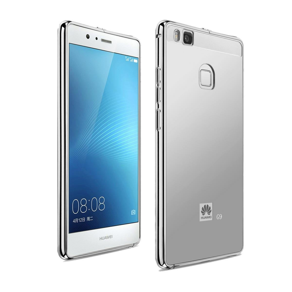 Huawei P9 Lite Funda,Grandcaser Lujo Ultrafino Metal Marco de ...