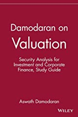 Damodaran on Valuation, Study Guide: Security Analysis for Investment and Corporate Finance Paperback