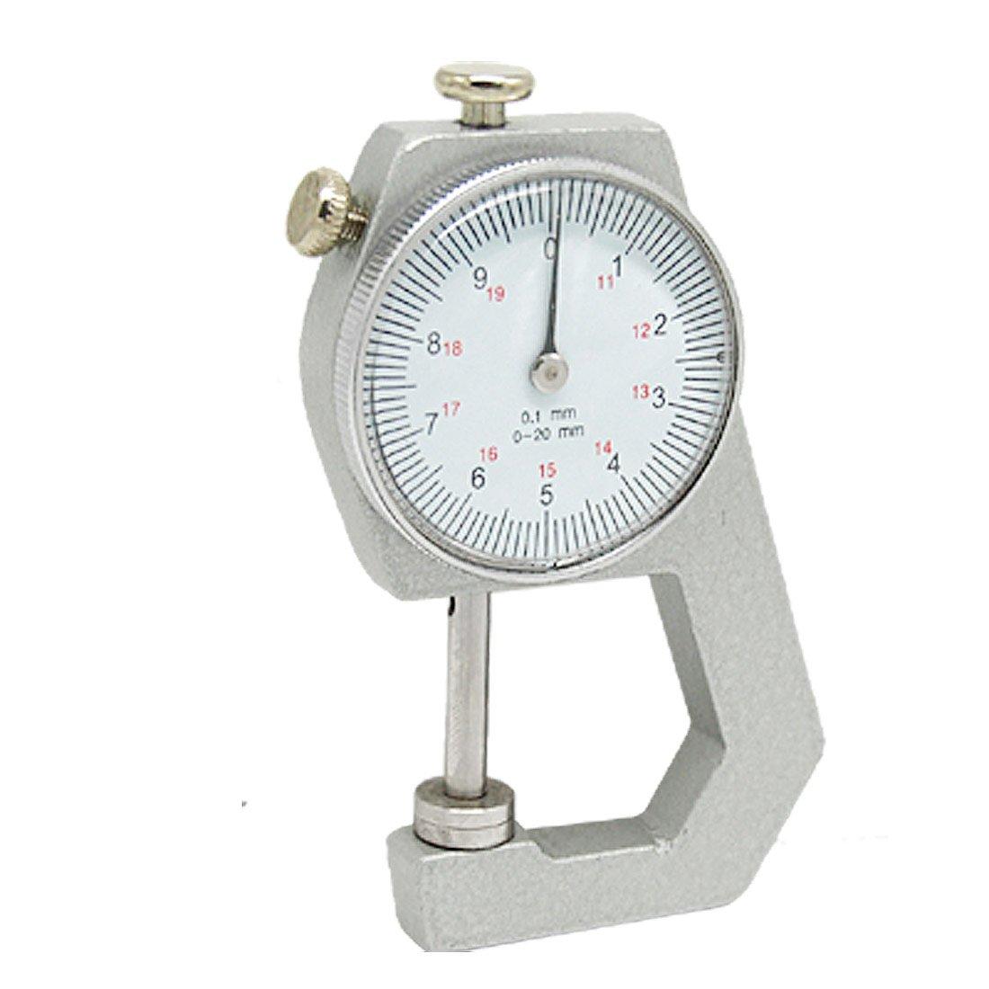 SODIAL(R) Herramienta de calibracion Calibre de medicion de espesor de bolsillo 0 a 20mm
