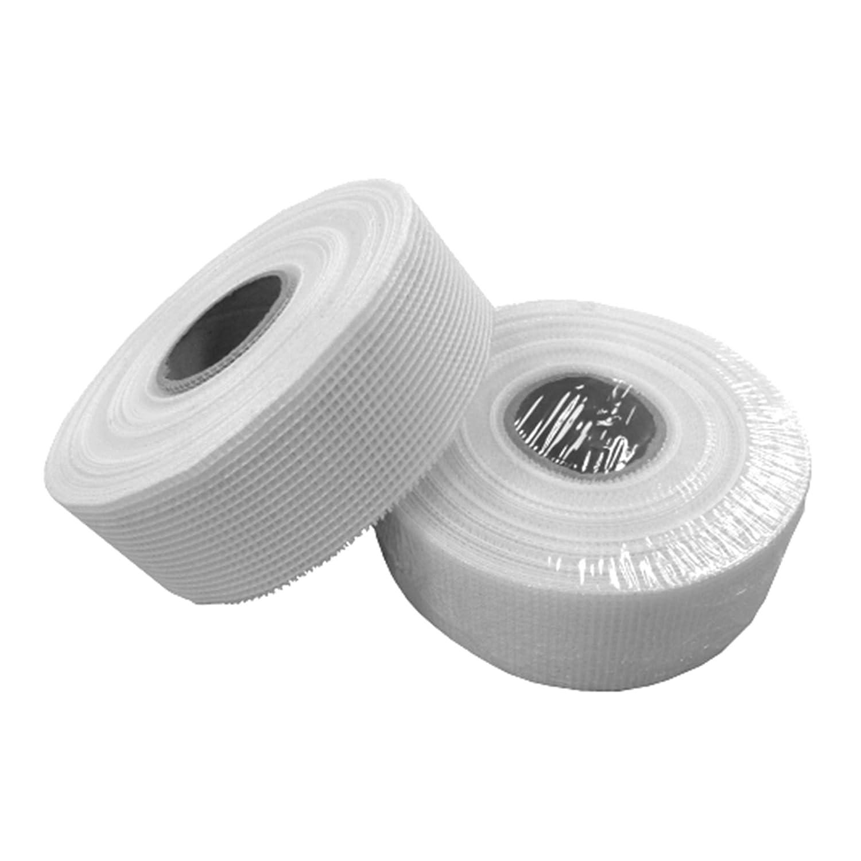 Sehr vielseitiges doppelseitiges Gitterband Glasfaser-Gewebeband selbstklebend Rigips Fugenband rei/ßfestes Reparaturband HP-AM075//050 5 Rollen /à 50 mm x 90m