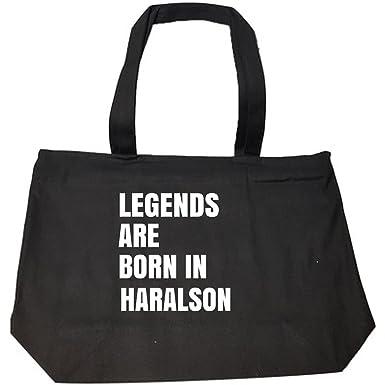 Amazon.com: Legends Are Born In Haralson Cool Gift - Bolso ...
