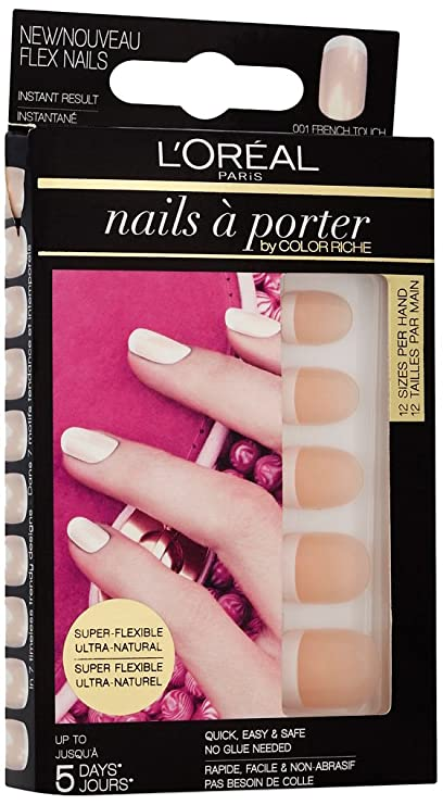 LOréal Paris Porter Flex - estuches de extensiones de uñas