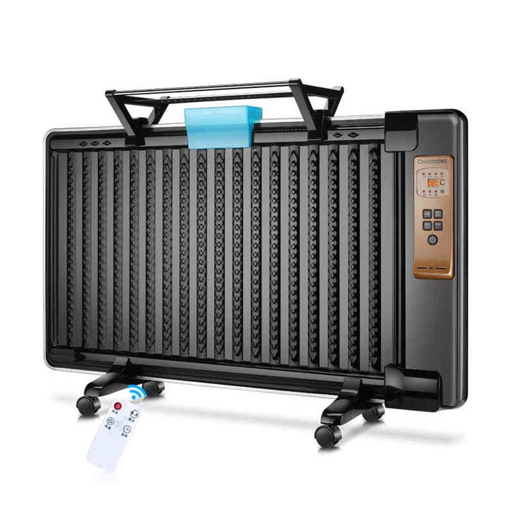 Acquisto RKY Riscaldatori elettrici Riscaldatore per casa-1800W Riscaldatore a convezione / 3 impostazioni di Riscaldamento e Timer a 8 Ore/Nero Riscaldamento rapido Prezzi offerte