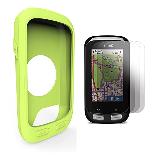 21 opinioni per Garmin Edge 1000 Approach G8 Custodia in silicone + Screen Protector, TUSITA®