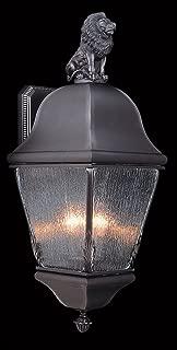 product image for Framburg 9610 IRON 3-Light Coeur De Lion Exterior Wall Mount, Iron