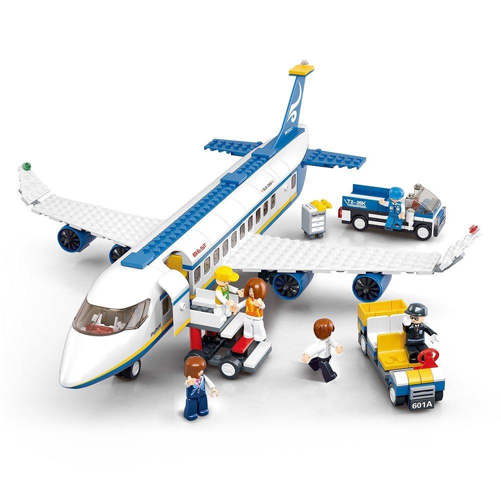 Sluban M38-B0366 M38-0366 Aviation Blocks Plane Bricks Toy-Airbus