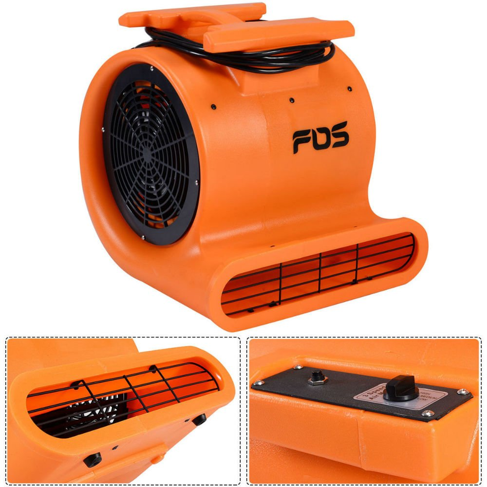 1.0 HP Air Mover Dryer Blower Fan Floor Carpet Industrial Commercial New