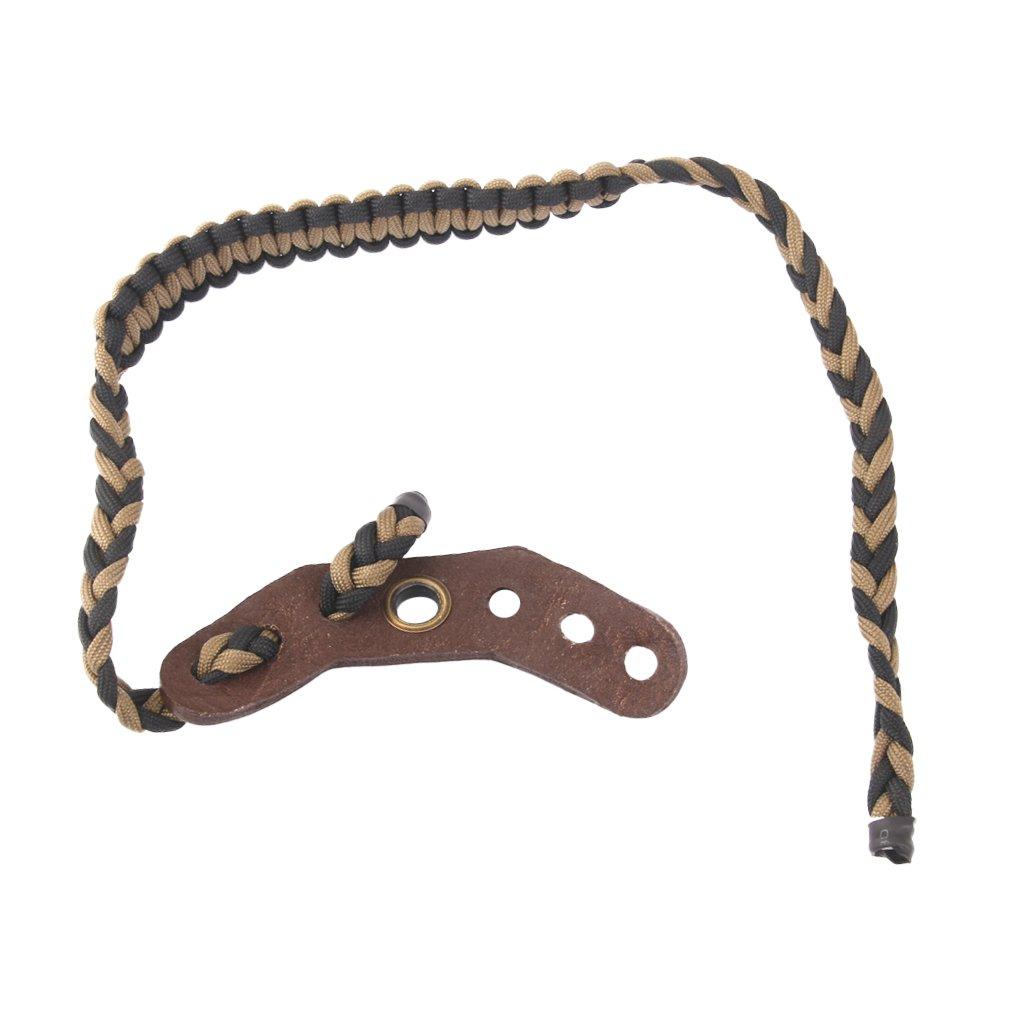 Tir à L'arc Nylon Tressé Paracord Fronde Corde de Poignet Pour Arc à Poulies Générique
