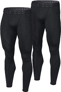 b827a651b TSLA Men's (Pack of 1, 2) Compression Pants Running Baselayer Cool Dry  Sports