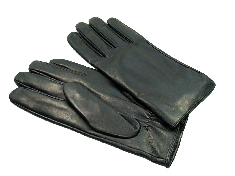 CWJ Glove Men Winter Warm Simple and Generous,Black,Medium