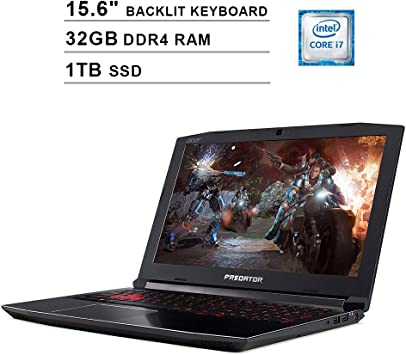 Amazon.com: 2019 Acer Predator Helios 300 15.6 Inch FHD ...