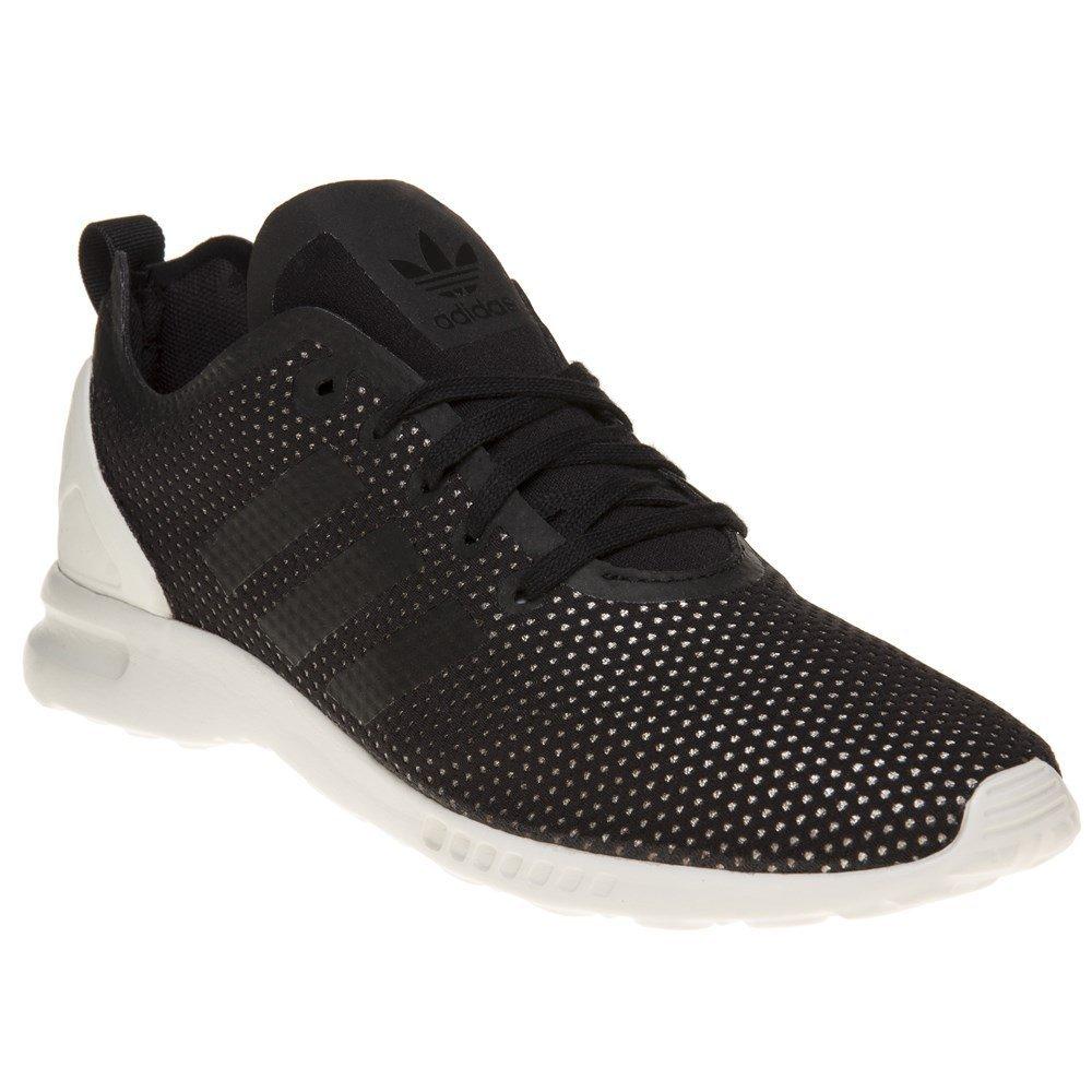 adidas Damen ZX Flux ADV Smooth W Sneakers  38 EU|Schwarz