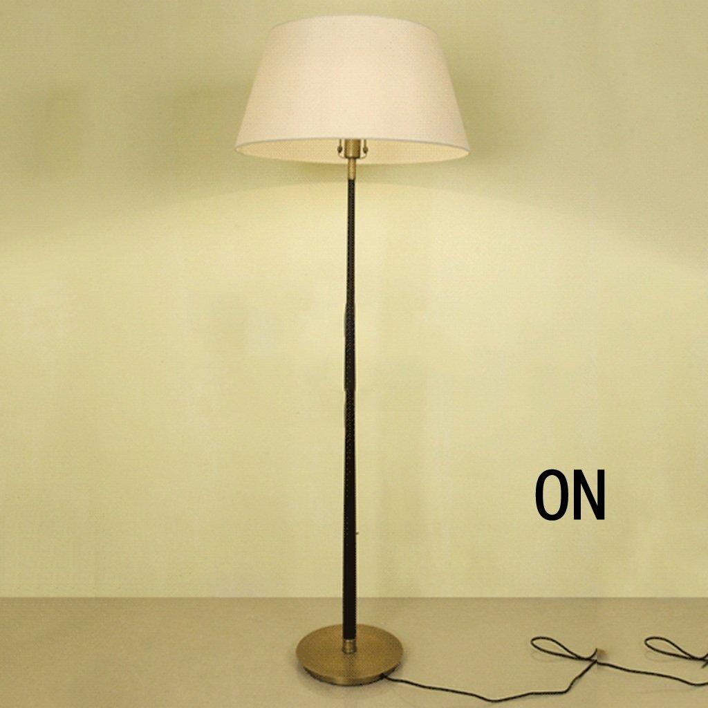 Tischlampe Amerikanisches Land kreative Persönlichkeit Retro-Nostalgie Wohnzimmer Stehlampe Schöne und praktische Schreibtischlampe ( größe : 55*160cm )