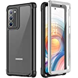 Nineasy Samsung Galaxy Note 20 Case, with Built-in Screen Protector Full Body Heavy Duty Shockproof Clear Cover for…