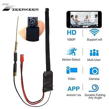 Zeerkeeer - Cámara de Seguridad inalámbrica con Sensor de ...