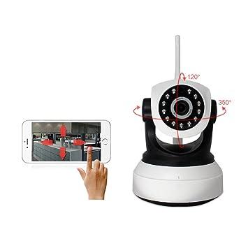 Cámara IP (WLAN, Webcam de Vigilancia WiFi Sistema de larga distancia de visión nocturna
