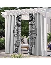 Outdoor Patio Curtain Warm Welcoming Spa Reception Big Healing Stones Candles Scent Flowers Print Anti-Uv Windproof Curtains Tastefully Designed for an Outdoor Space Purple Black and Green