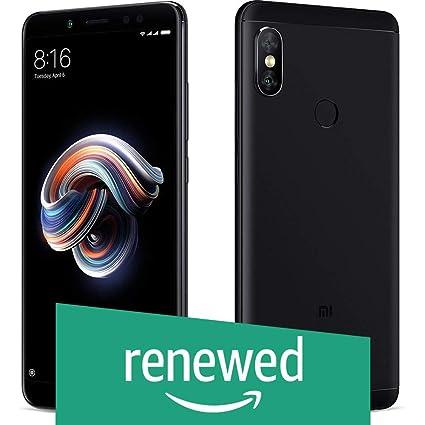 Renewed  Redmi Note 5 Pro  Black