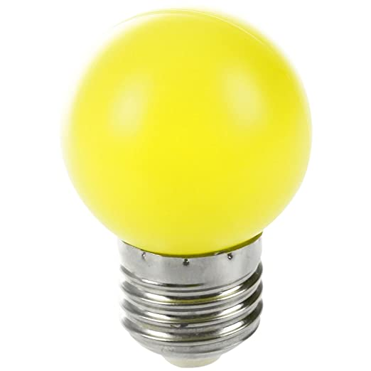 LED Bombilla de luz - TOOGOO(R) E27 LED Luz amarillo calido Bombilla lampara