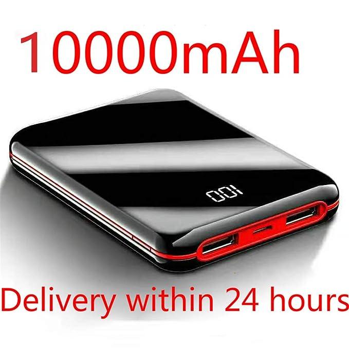 LMHGG - Cargador de teléfono móvil portátil con LED para ...