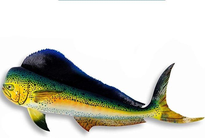 Mahi Mahi Dolphin Rustic Wall Sign Plaque Gifts Fish Fishermen Men