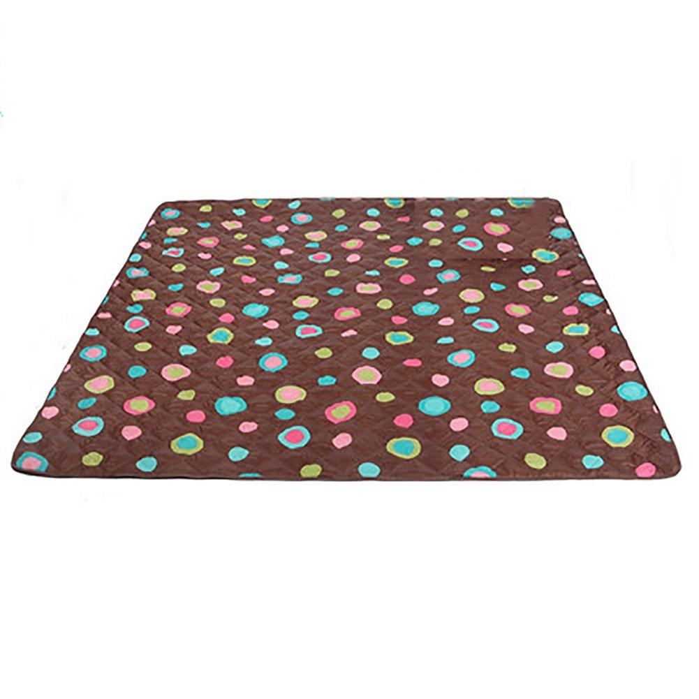 Picknick-Matte im Freien beweglicher Feuchtigkeits-Auflage-Ultraschallwellen-Maschinen-waschbare Wasserdichte zusammenklappbare kampierende Matte (größe   200  300cm)