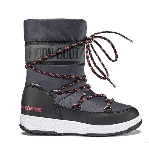 san francisco 0e0de 9b8ae Tecnica Moon Boots W.E.Sports Wp for Kids (Black) -34 ...