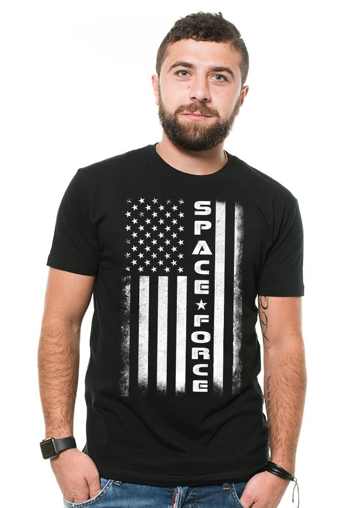 Space Force Flag T Shirt United States Space Force Military T 6307