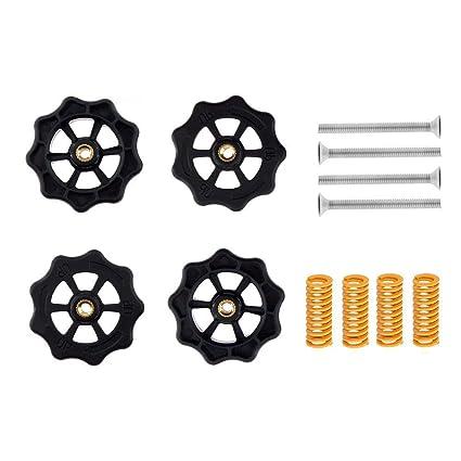 TOOGOO Piezas de Impresora 3D de 4 Piezas M4 x 40 mm Tuercas de ...