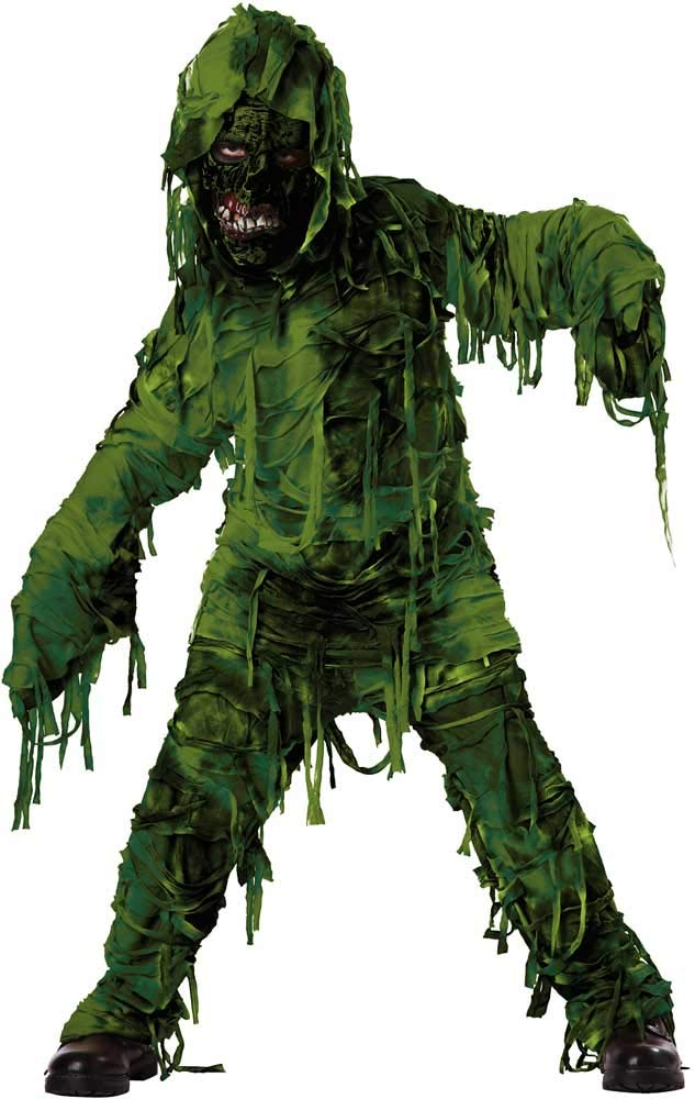 Murky Swamp Ghoul Tattered Shirt & Pants Ghosts & Monsters Costume Child Boys