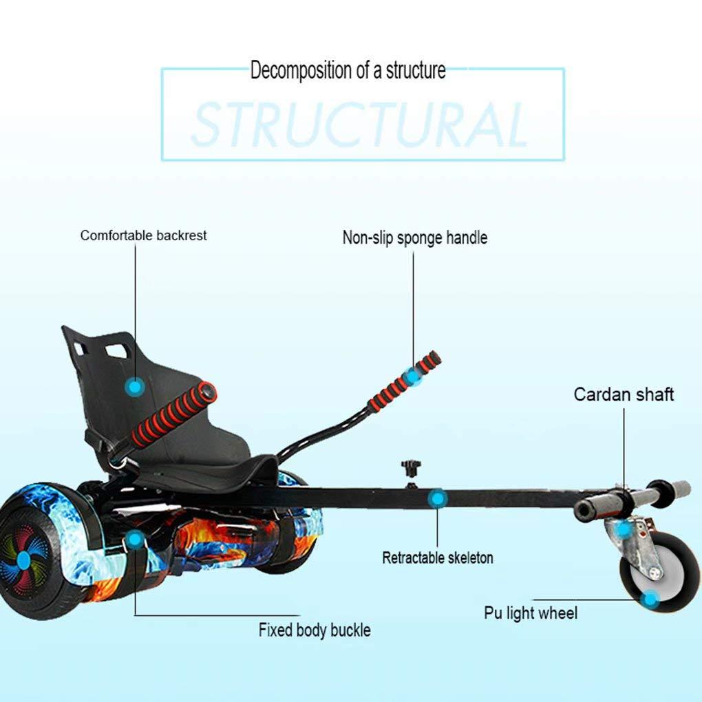 Convient /à Tous Les mod/èles Hoverboard Swegways CXLZJ Hoverkart Go Kart R/églable pour Le kit de Conversion HoverCart 6.5Convient aux Adultes et aux Enfants