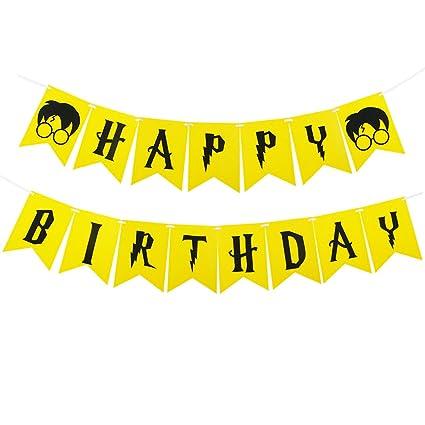 Amazon.com: Harry Potter Party Supplies – Happy Birthday ...