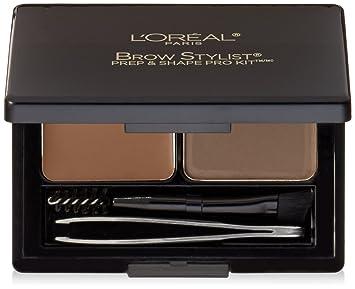 54898153dc8 Amazon.com : L'Oréal Paris Brow Stylist Prep and Shape Pro Brow Kit ...