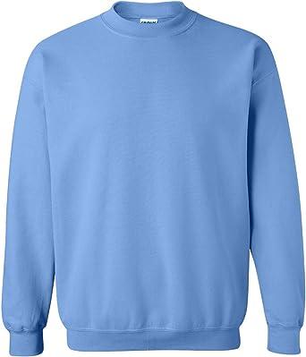 GILDAN Mens Big and Tall Fleece Crewneck Sweatshirt Carolina Blue XX-Large