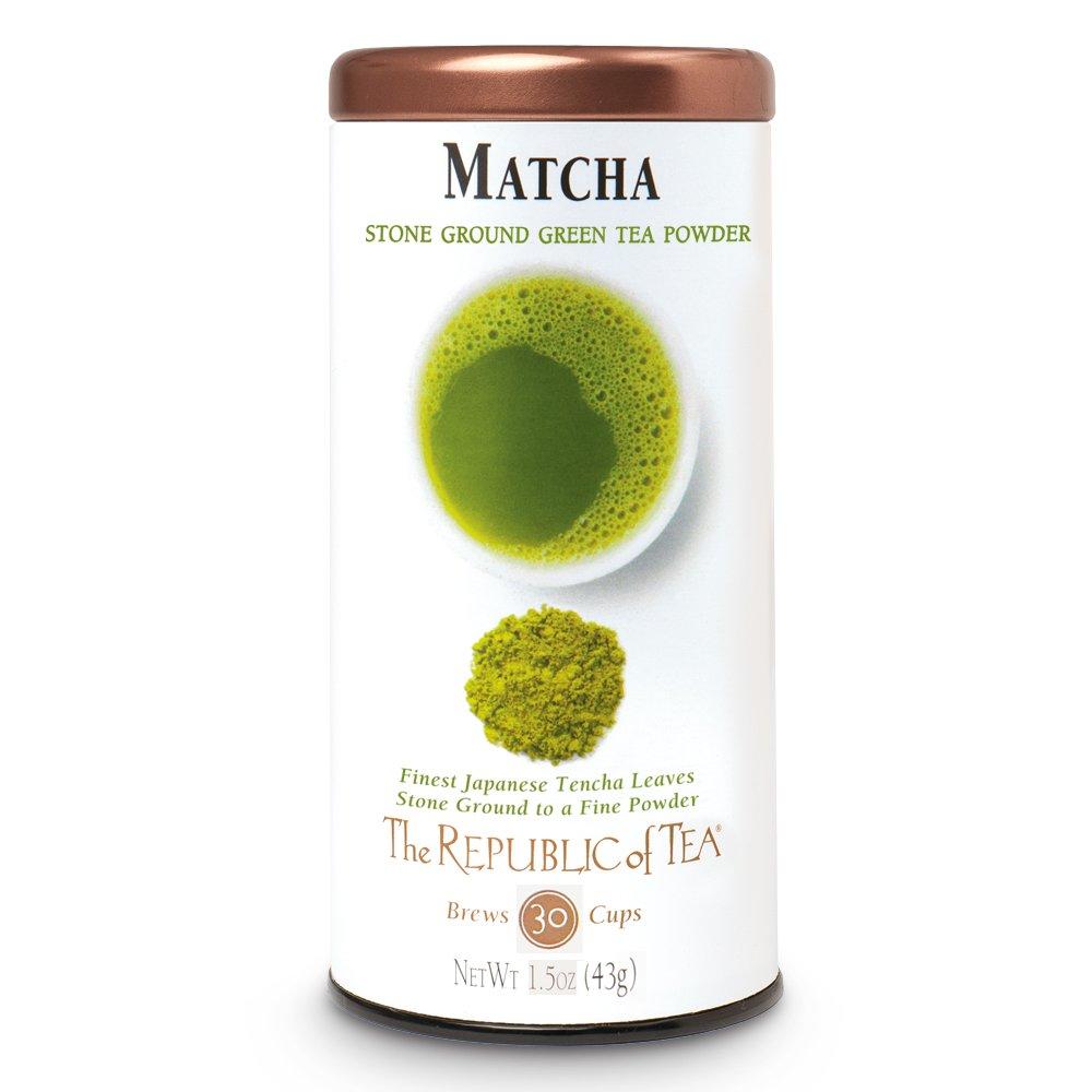 The Republic Of Tea Gourmet Matcha Tea Powder, Non-GMO, 1.5 Ounce Tin