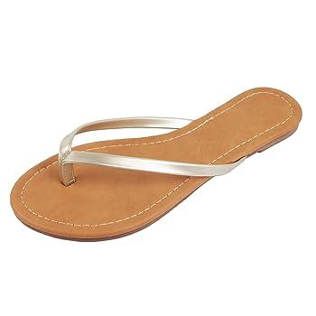   Womens Classic Comfortable Beach Thong   Flat Flip Flop Sandal