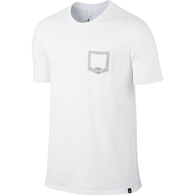 Camiseta Jordan – Pure Money Pocket blanco talla: L (Large)