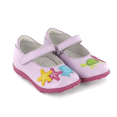 Mercedita de niña en Piel Rosa Lea Lelo  Amazon.es  Zapatos y complementos 5111b891acc84