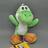 Super Mario Bros Yoshi Green 4 Inch Anime Stuffed Plush Kids Toys
