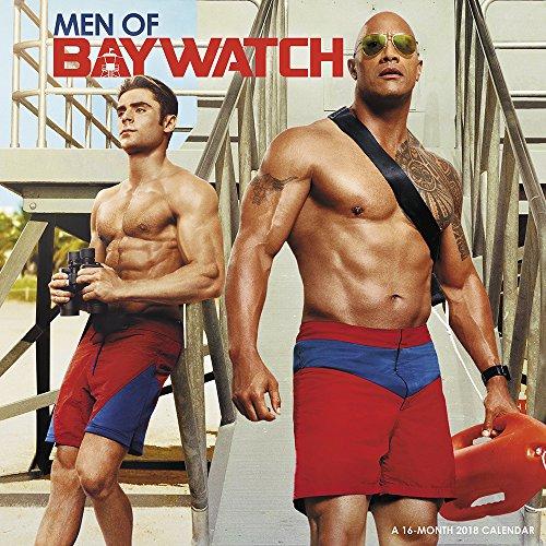 2018 Men of Baywatch Wall Calendar (Day Dream)